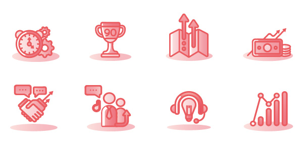 Website icons for Canoe by Mighty
