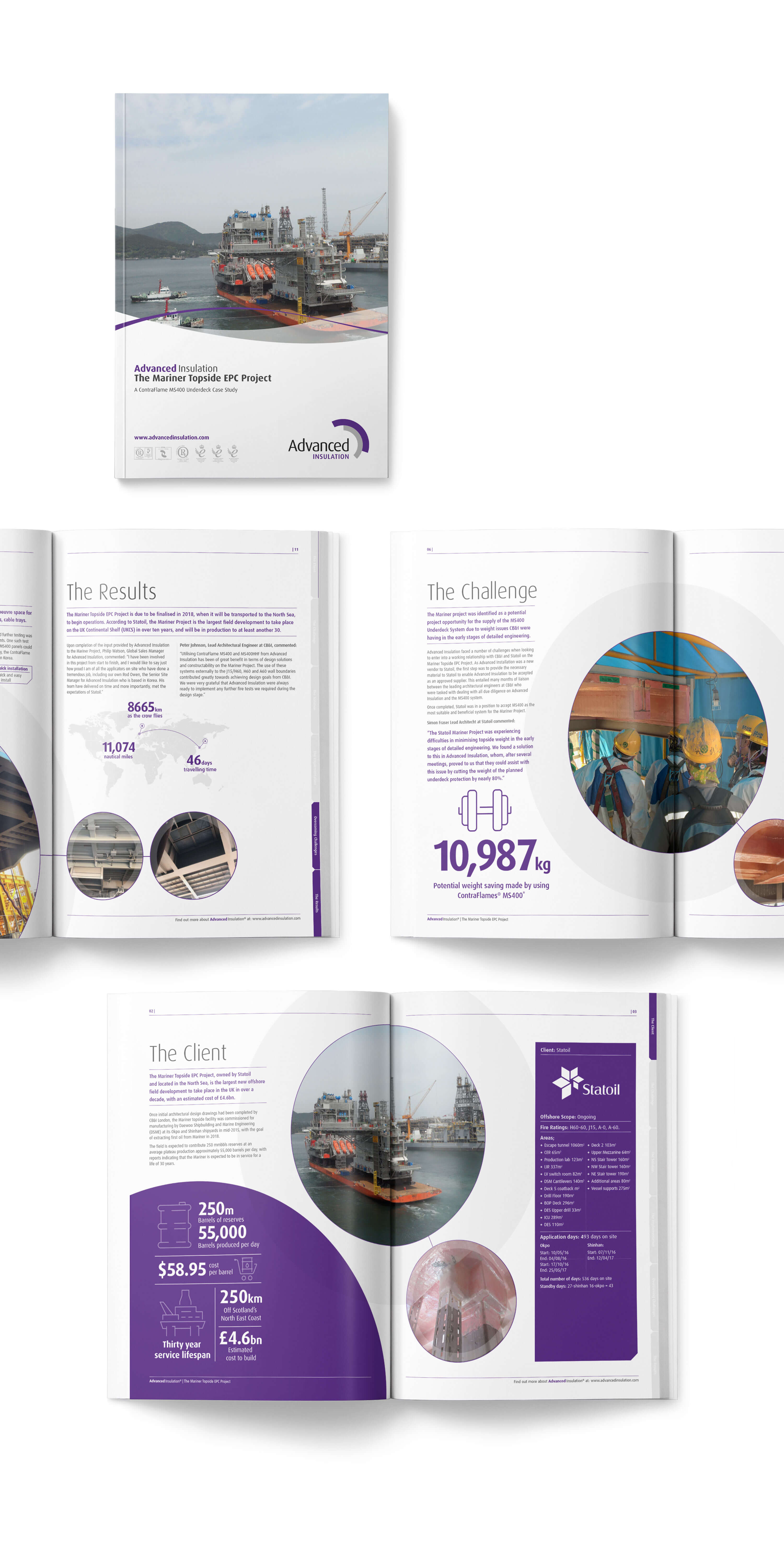 Brand consultation for Advanced Insulation by Mighty, design agency Cheltenham
