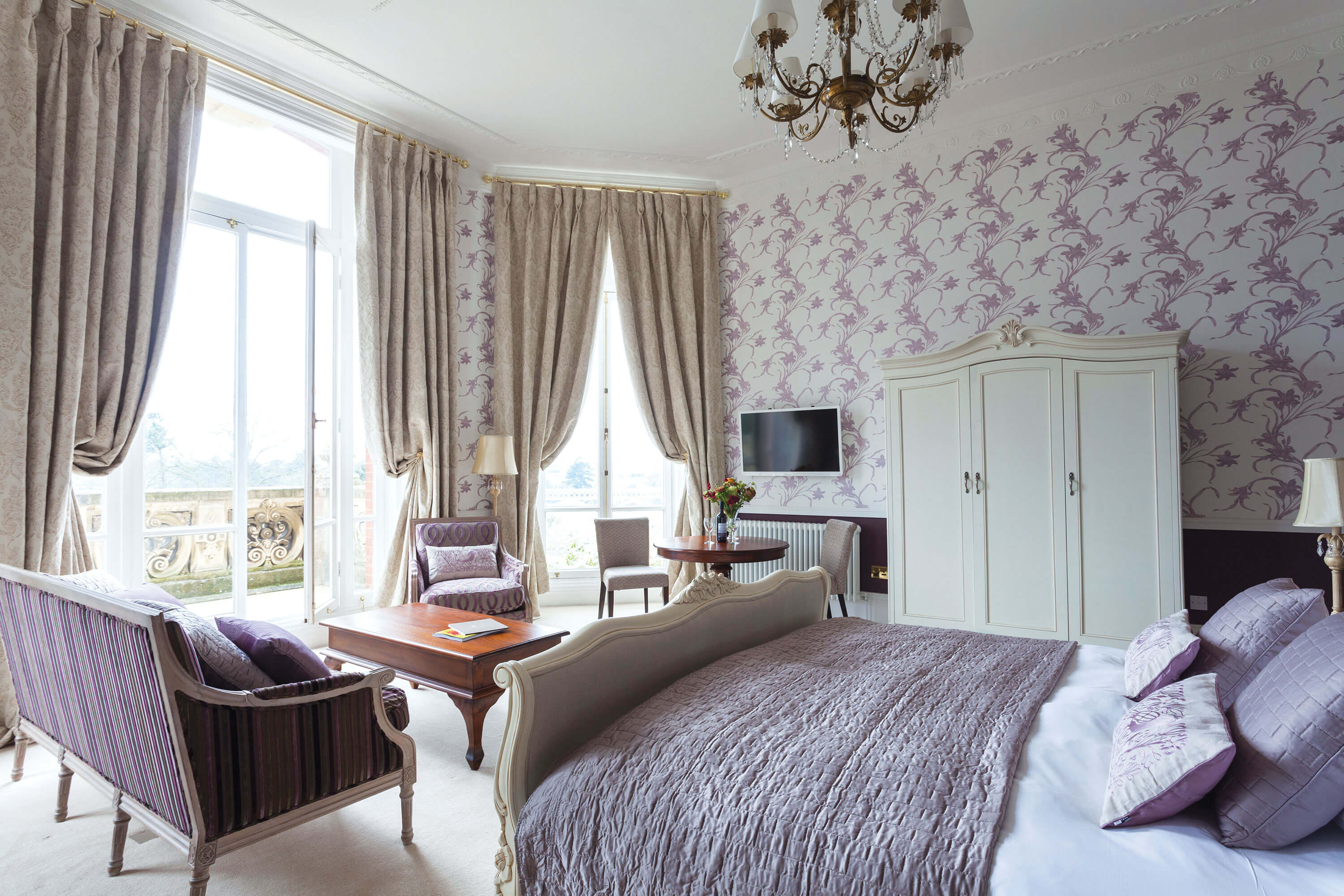 Interior photography for Chateau Impney by Mighty, hotel marketing agency Worcester
