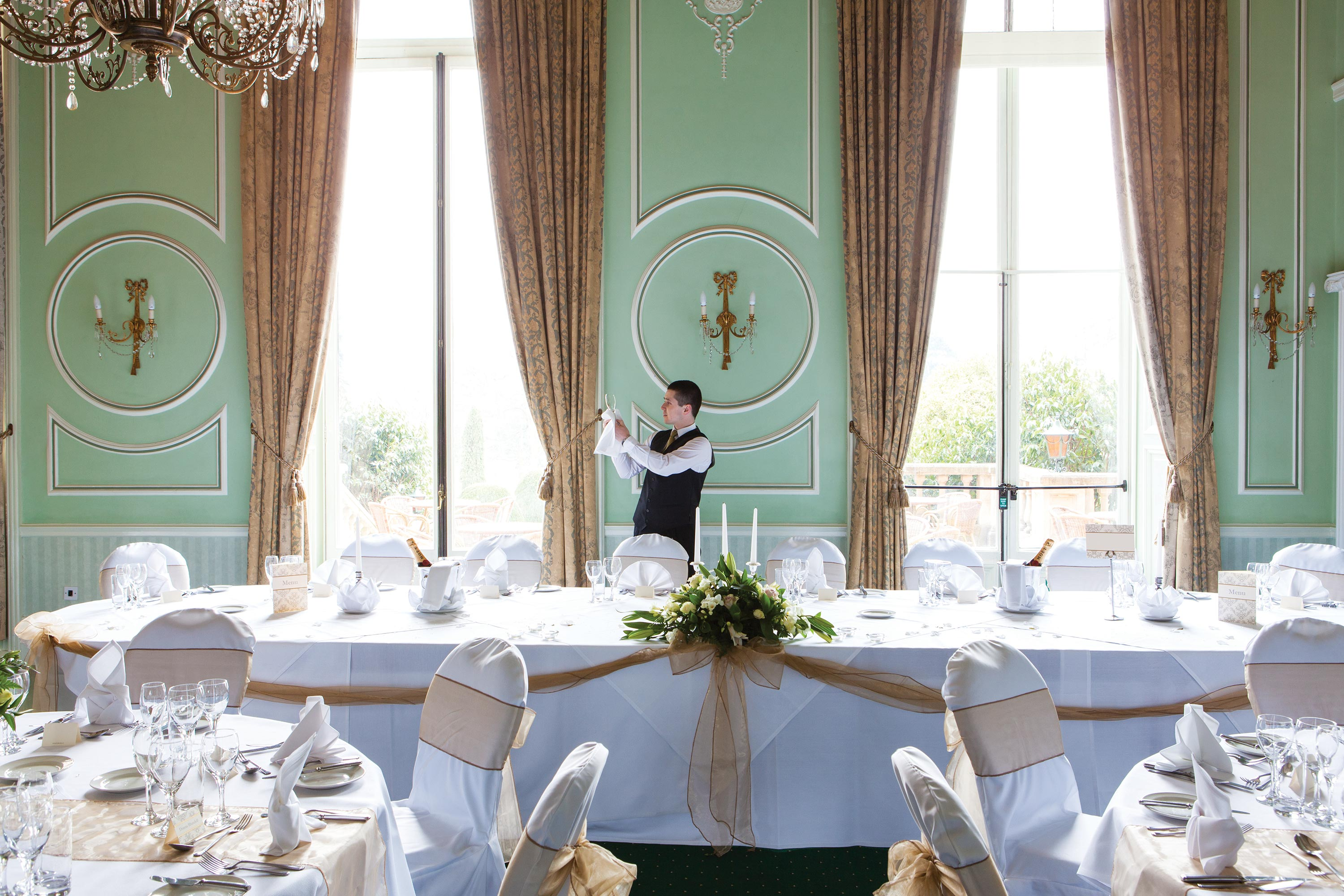 Hotel photography for Chateau Impney by Mighty, hotel marketing agency Worcester