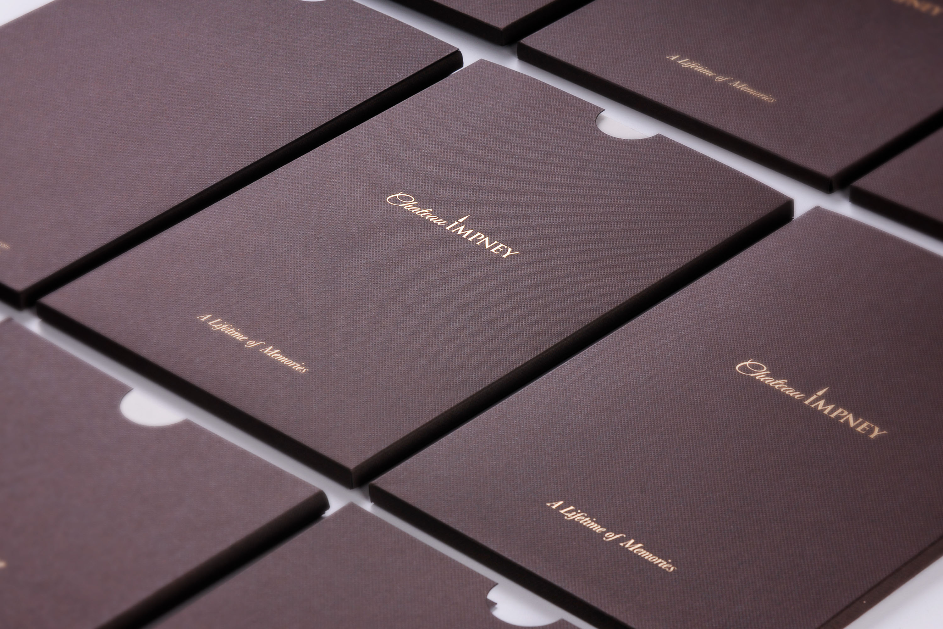 Brochure wallets, designed by Mighty, hotel marketing agency Worcester
