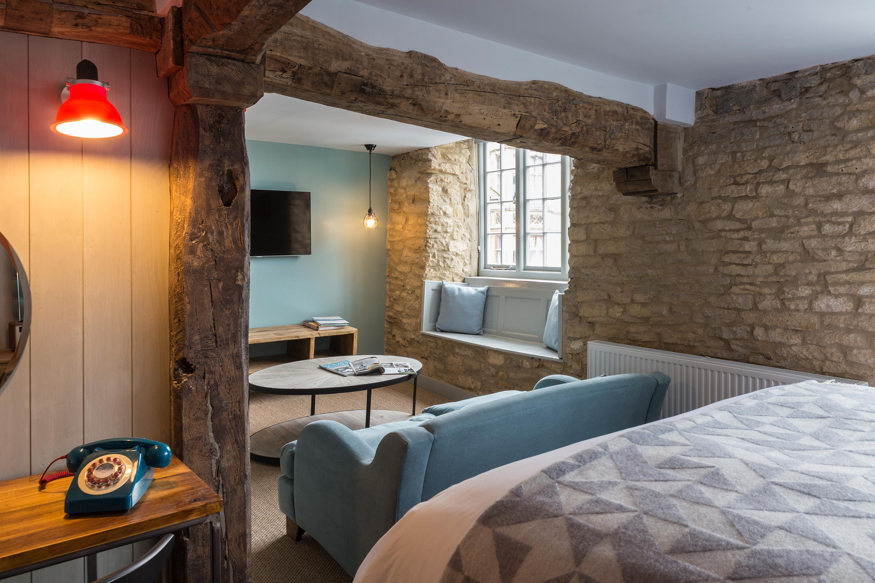 Hotel photography for The Old Stocks Inn by Mighty, hotel marketing agency