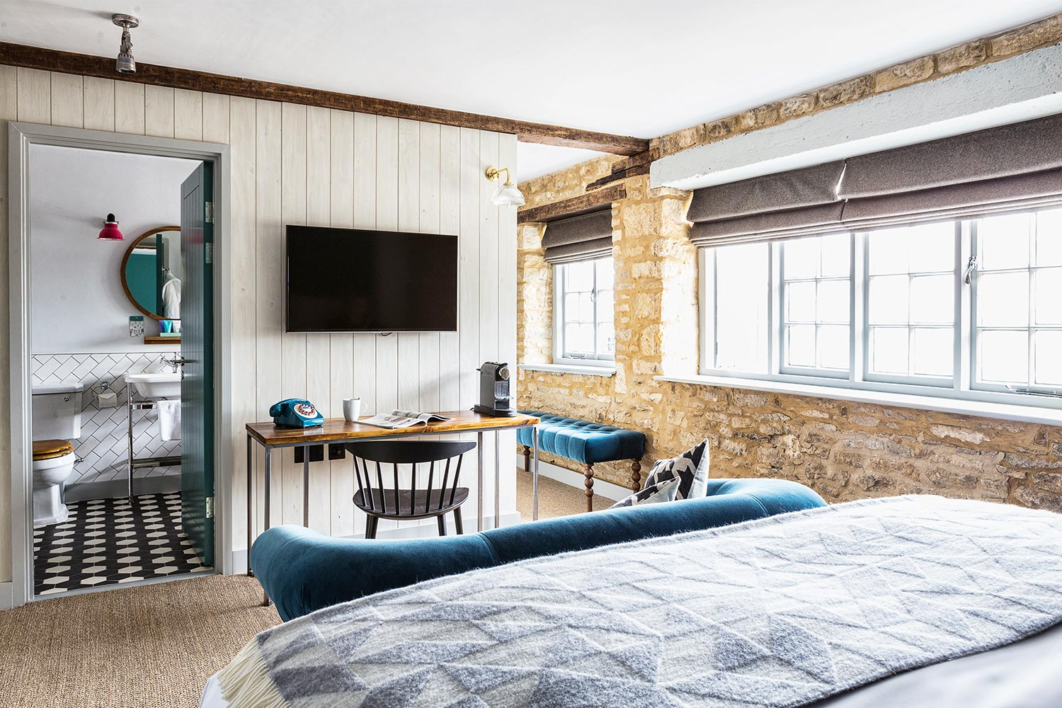 Boutique hotel photography for The Old Stocks Inn by Mighty, hotel marketing agency