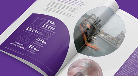 Brochure design for Advanced Insulation by Mighty, design agency Cheltenham